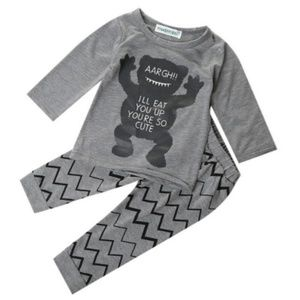 """Other - """"Eat you up!"""" baby outfit 2, 3 T."""